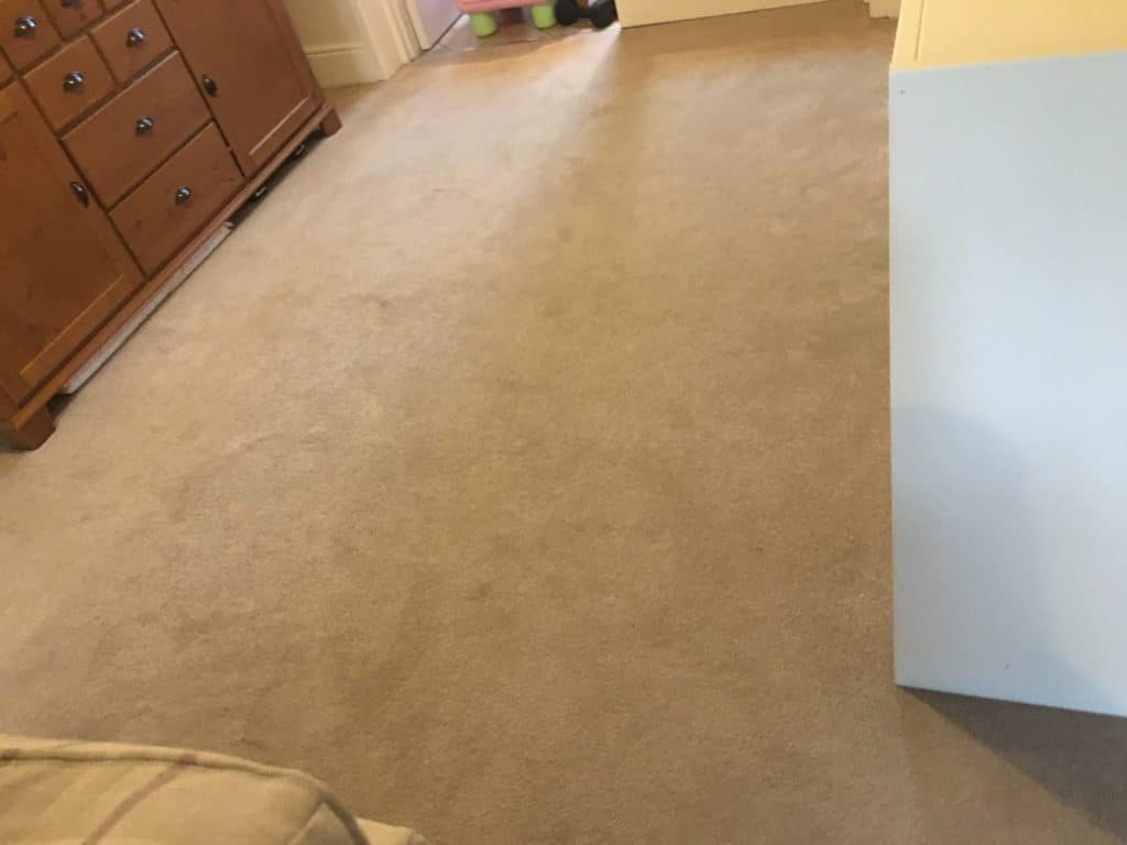 Carpet Cleaning Fairford Before